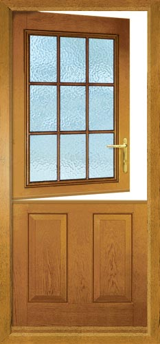 Stable composite doors the greenest door from the for Wood effect upvc french doors